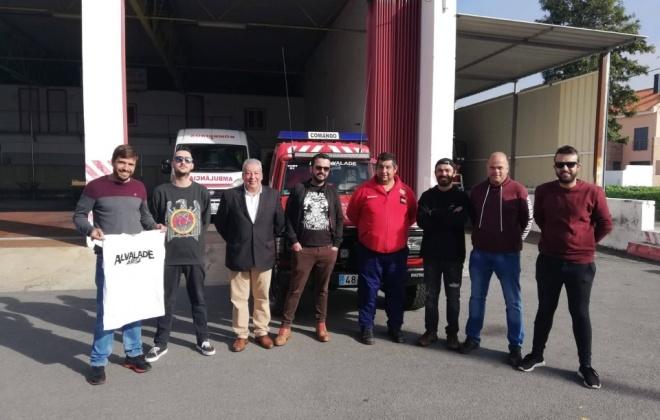 Alvalade Arise solidário entrega bens a bombeiros locais