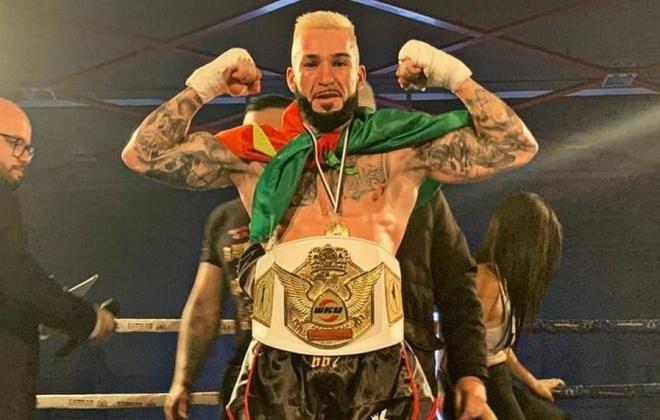 Marco Tyson conquistou título europeu de kickboxing