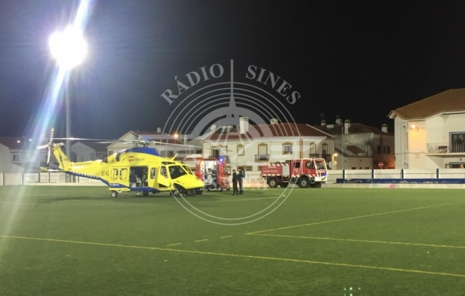 Queda em obra provoca ferido grave em Vila Nova de Milfontes