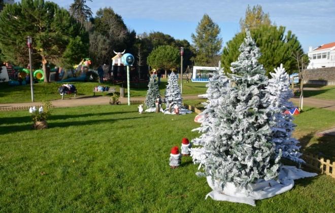A magia e o espírito do Natal vão estar no Parque Verde da Quinta do Chafariz, em Santiago do Cacém