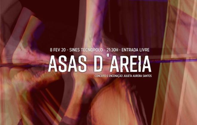 """Teatro do Mar apresenta esta noite o espetáculo """"Asas d'Areia"""""""