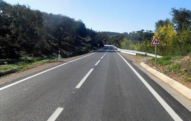 Infraestruturas de Portugal requalificou ER 266 entre Luzianes e Saboia