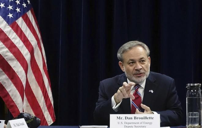 Secretário da Energia dos Estados Unidos da América visita Porto de Sines
