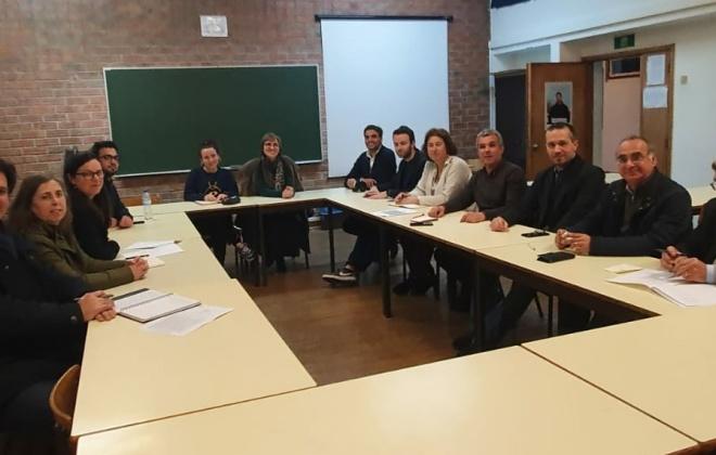 Deputados Socialistas visitam Escola Secundária António Inácio Cruz, em Grândola