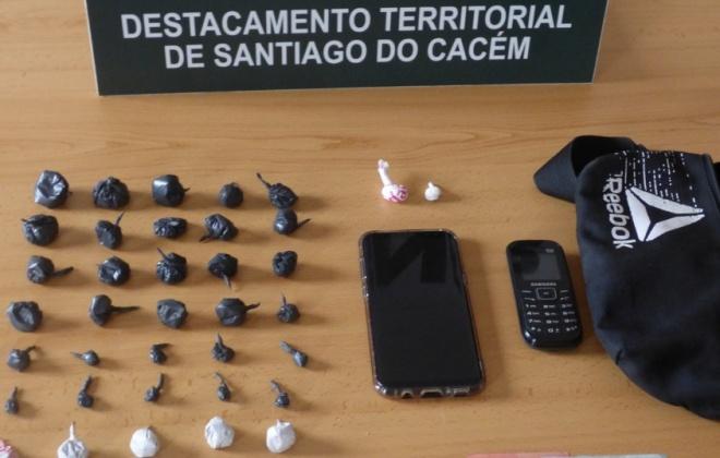 Prisão preventiva para suspeito de tráfico de droga em Sines