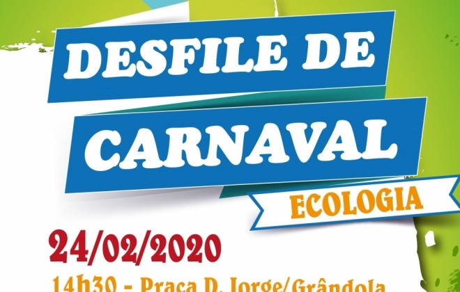 Grândola recebe desfile de Carnaval na tarde de segunda-feira
