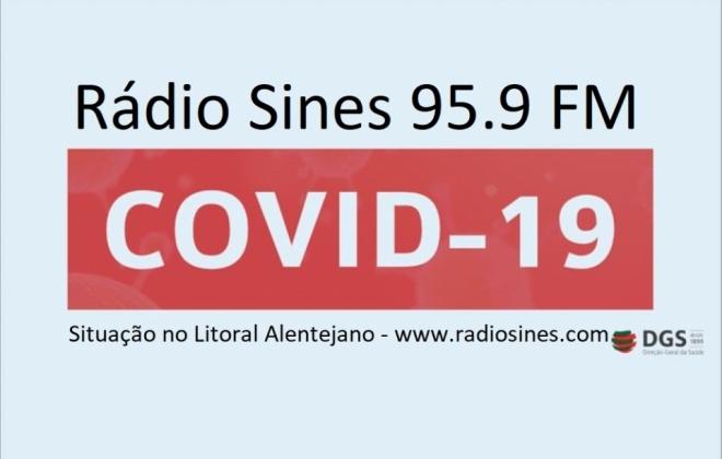 Litoral Alentejano conta com 36 casos de Covid-19, 19 deles já recuperados
