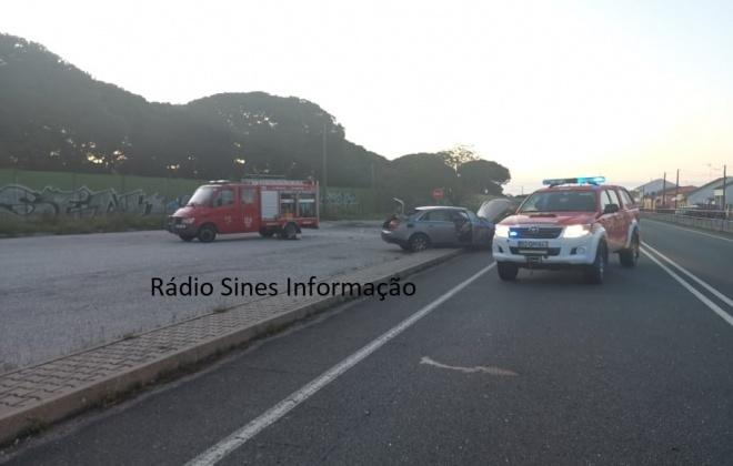 Despiste provoca ferido ligeiro no IC1 em Grândola