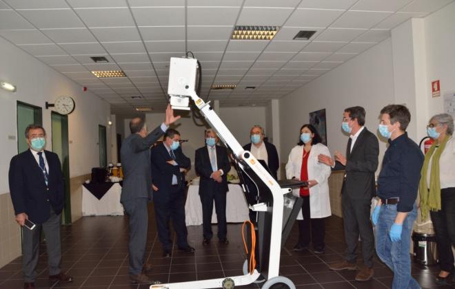 Vanguard Properties e Câmara de Grândola entregam RX Digital Portátil ao Hospital do Litoral Alentejano