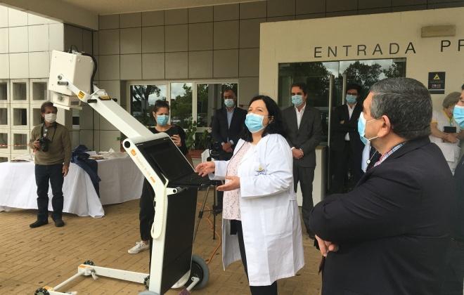Empresas de Sines oferecem Raio X ao Hospital do Litoral Alentejano (com áudio)