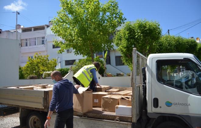 CIMAL procede à entrega de material de proteção aos seus cinco municípios