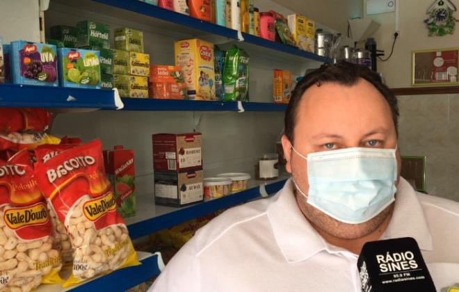 Mercado Novo Brasil continua aberto em Sines