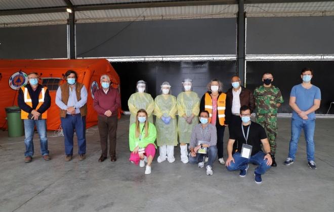 Funcionários das Creches e Jardins de Infância foram hoje testados ao Covid-19