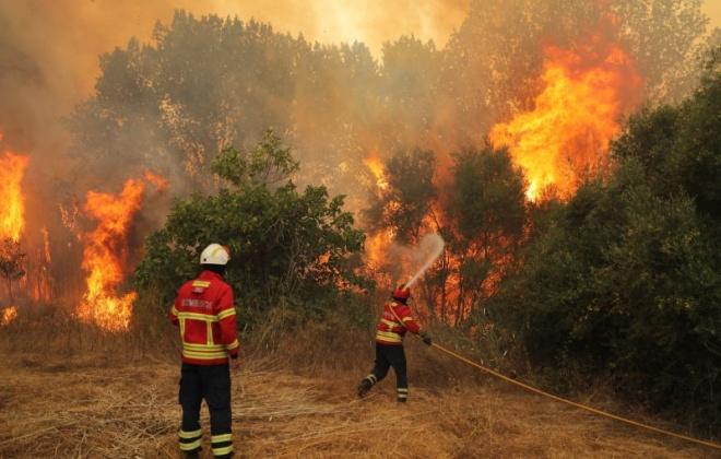 Proteção Civil divulga plano para prevenir contágio por covid-19 entre operacionais nos incêndios