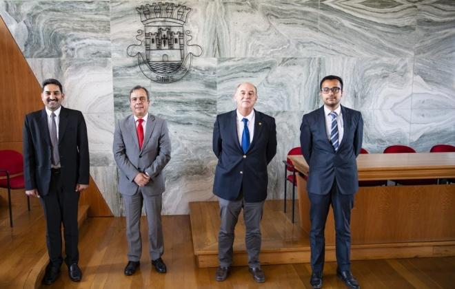Responsáveis da Embaixada da Índia em Portugal estiveram em Sines