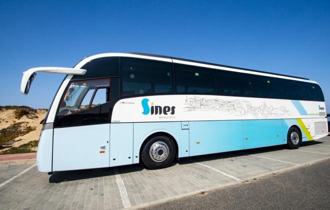 Câmara Municipal de Sines adquiriu um novo autocarro de 55 lugares