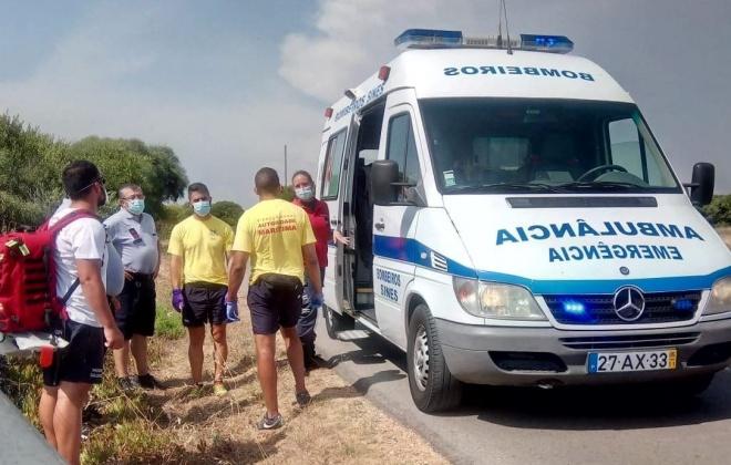 Mulher de 47 anos foi salva em praia de Porto Covo