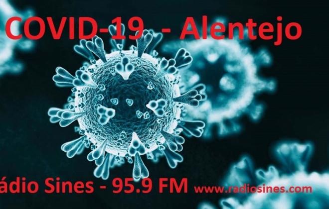 Região do Alentejo regista mais 20 casos de Covid-19