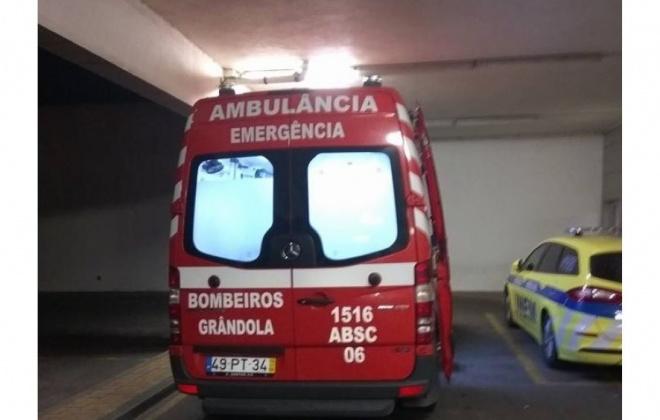 Despiste provoca um ferido grave em Grândola
