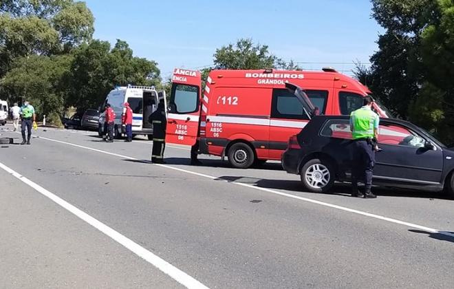 Colisão provoca quatro feridos ligeiros no IC1 em Grândola