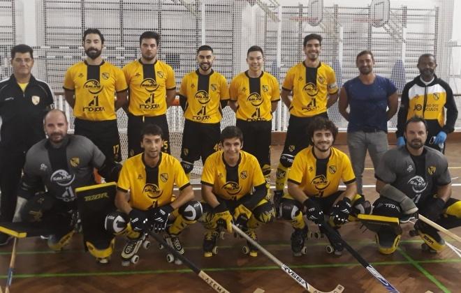 Hóquei Clube Vasco da Gama venceu o Juventude Azeitonense por 8-7