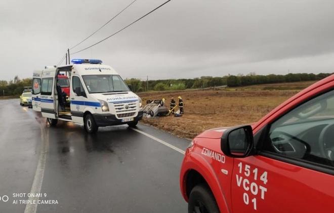 Dois despistes em Porto Covo, provocam dois feridos ligeiros