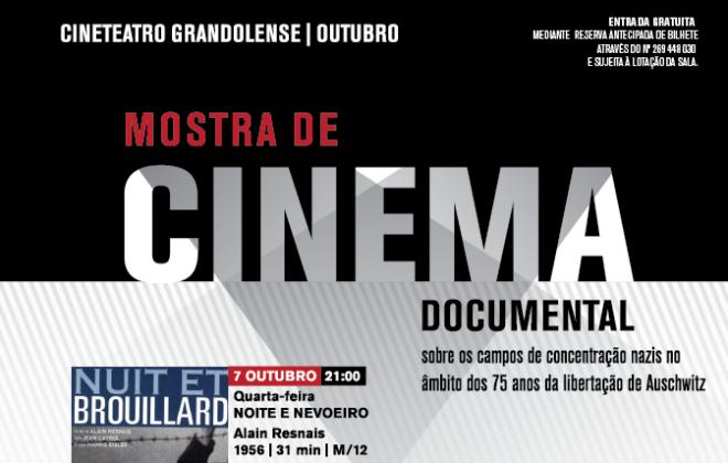 Ciclo de cinema sobre Auschwitz para ver a partir de hoje em Grândola