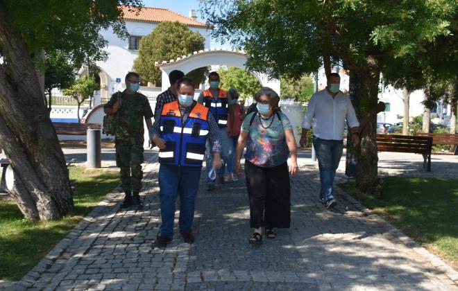 Município de Aljustrel recebeu visita de avaliação a zonas de acolhimento em caso de emergência no âmbito do Covid-19