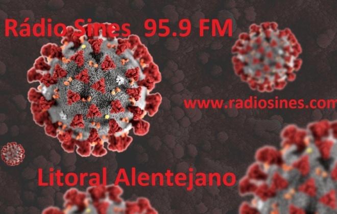 Litoral Alentejano regista 3 novos casos ativos e 17 recuperados de Covid-19