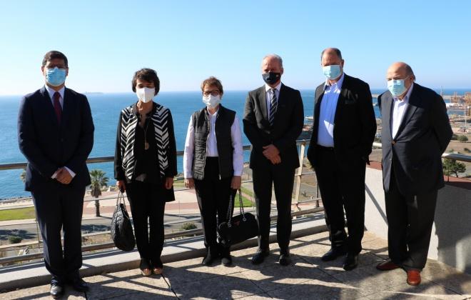 Ministras da Agricultura de Portugal e do Brasil visitam Porto de Sines  com foco no agronegócio