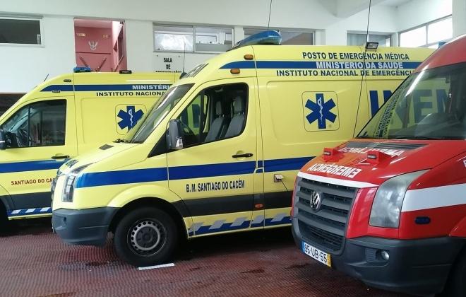 Despiste provoca ferido ligeiro em São Domingos, Santiago do Cacém
