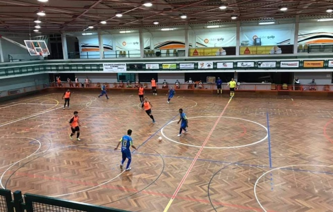 Clube Galp Energia venceu ontem o Estrela de Santo André