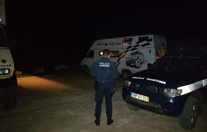Levantadas 26 contraordenações por campismo e autocaravanismo ilegal em Aljezur