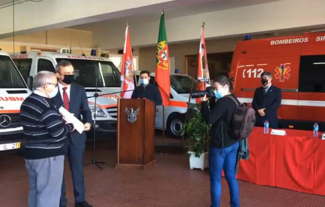 Eduardo Pires recebeu Medalha Grau Ouro da Liga dos Bombeiros Portugueses