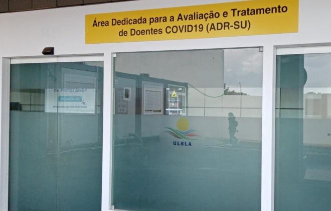 Covid-19: Hospital do Litoral Alentejano com 57 doentes covid internados