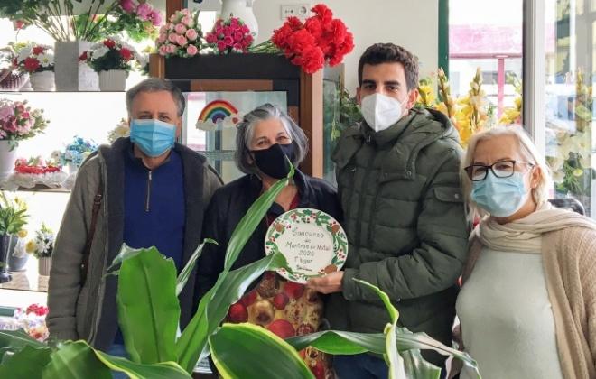 Mabo Flores vence concurso Montras de Natal de V.N. de Santo André pelo segundo ano consecutivo
