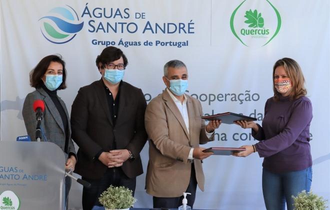 Águas de Santo André e Quercus assinam protocolo de cooperação