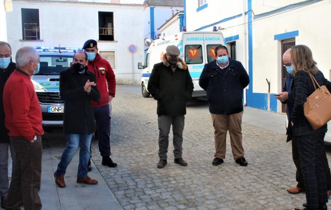 Utentes do Lar do Torrão foram hoje vacinados