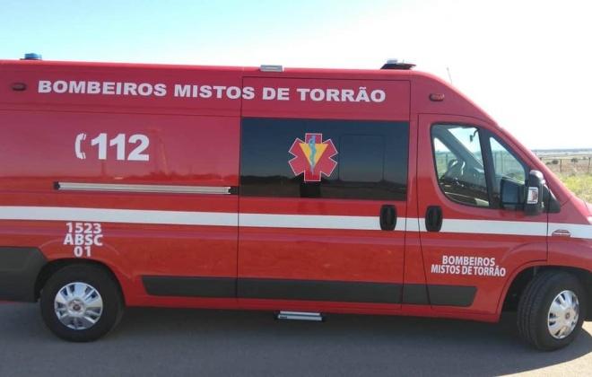 Despiste provoca um ferido em Torrão, Alcácer do Sal
