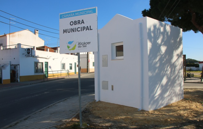 Câmara de Alcácer do Sal constrói sanitários públicos no Bairro do Laranjal