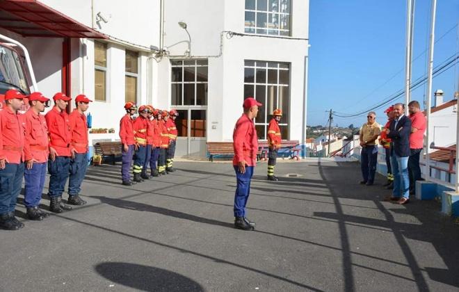 Autarquia de Santiago do Cacém continua a apoiar os bombeiros com material de proteção