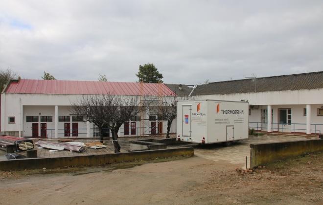 Mercado Municipal do Torrão recebe nova cobertura
