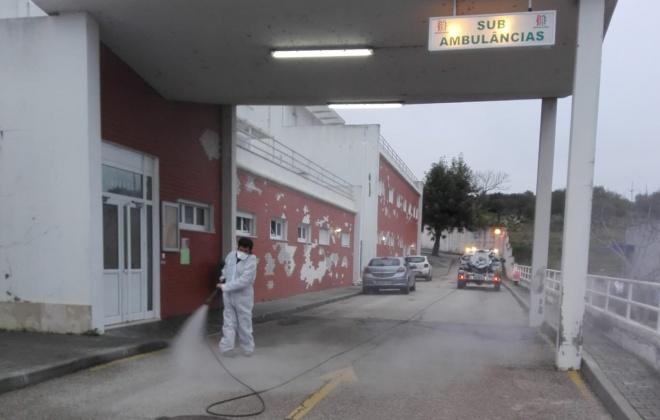 Câmara de Alcácer do Sal promove higienização do espaço público