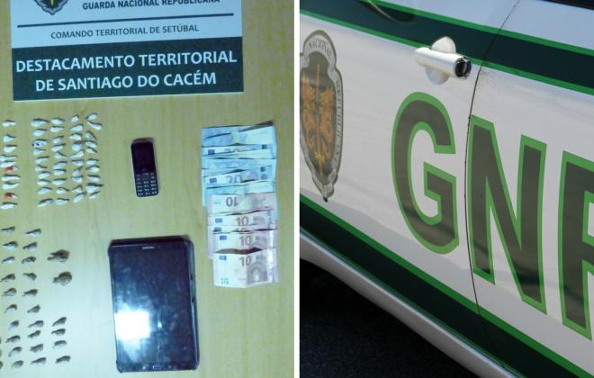 Homem detido em Vila Nova de Santo André por tráfico de estupefacientes