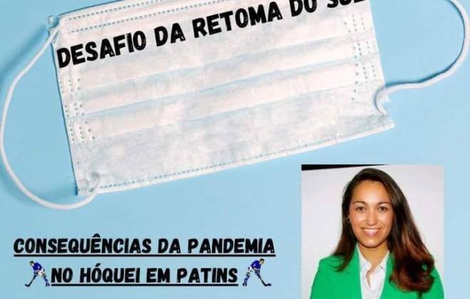 """Tertúlia debate este sábado """"Consequências da Pandemia no Hóquei em Patins"""""""