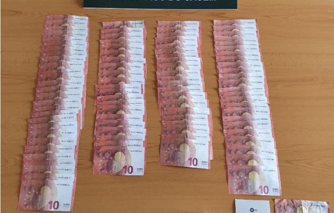 Três homens foram detidos em Santiago do Cacém por passagem de moeda falsa