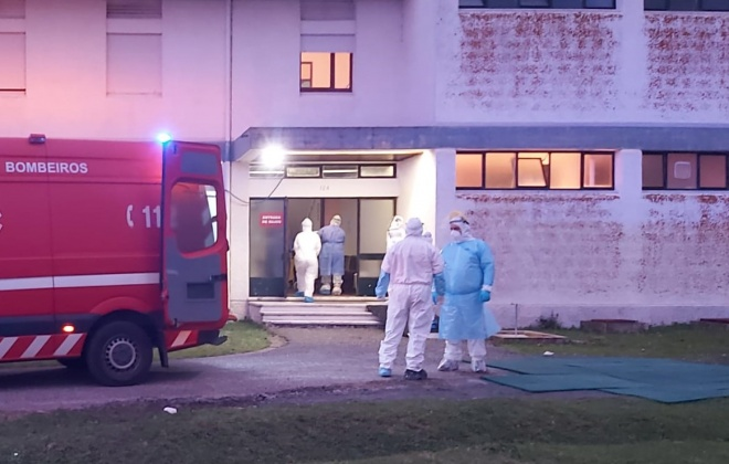 Bombeiros de Odemira e Milfontes transportaram idosos para a Base Aérea de Beja