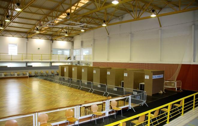 Alcácer do Sal já tem o Pavilhão Gimnodesportivo pronto para receber a nova fase de vacinação