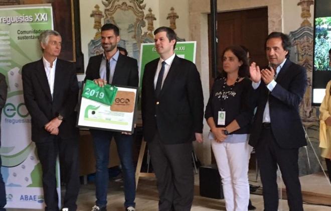 Santo André formaliza recandidatura a Eco-Freguesia e Junta quer melhorar resultado de 2019