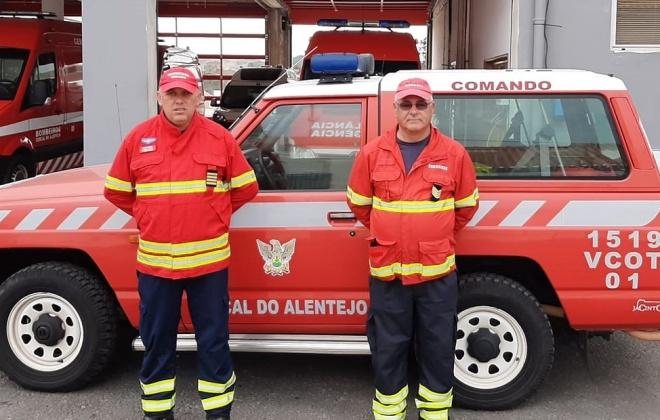 Cercal do Alentejo conta com 38 bombeiros vacinados
